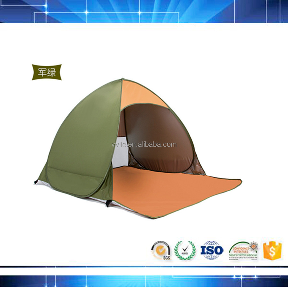 cheap price inflatable big size pop up beach tent