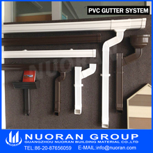 Best Price Valley Flat House Leaf Gutter Guard, Good Quality Africa Nigeria Ghana Kenya Plastic Borno PVC Rain Gutter