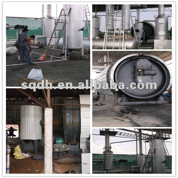 oil change machine extracting fuel oil machine from waste tyres