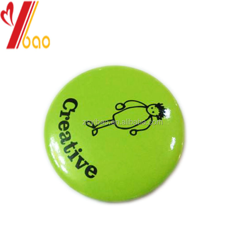 Wholesale cheap tinplate badge with promotional gifts