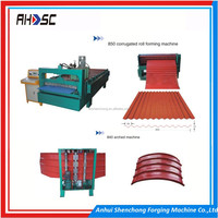 High Speed High Quality portable used metal roof panel roll forming machinery to produce building material