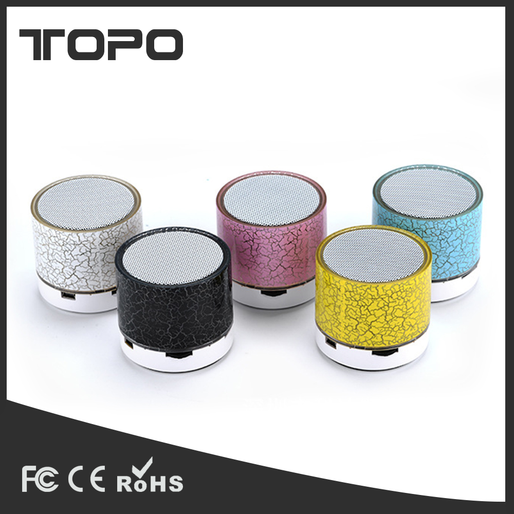 LED mini Portable Subwoofer Loudspeakers Bluetooth Speaker Music Stereo Handsfree Sound Box