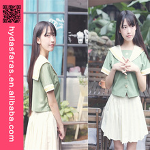 Manufacturer JK Student Class Uniform School Suit Top+Skirts Cosplay Costume School uniform design