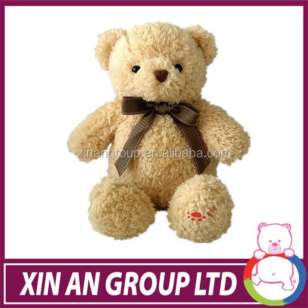 2015 new arrival popular hot sale plush teddy bear with movable arms and legs