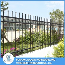 High security new designs decorative modern gates steel metal fence