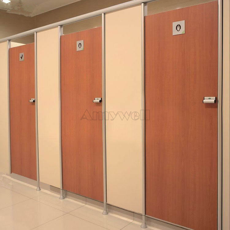 Amywell Wearproof Formica Sheets Toilet Cubicles Hpl Used