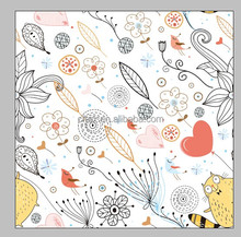 Digital Printing Minky Fabric Customized Pattern For Baby Blanket