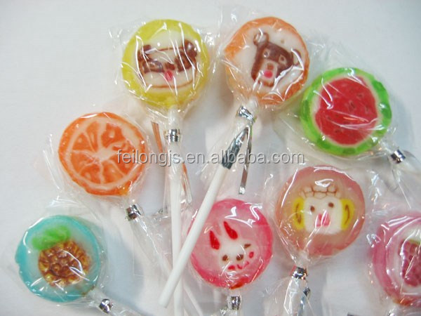 New flat lollipop candy packing machine