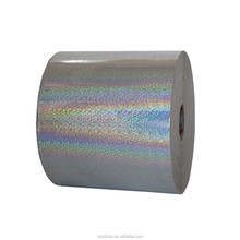 Holographic textile foil laser paper for package heat transfer high quality in 2016