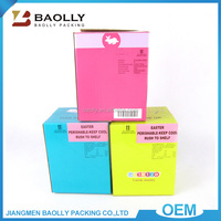 Full color custom printed corrugated standard cardboard box sizes glossy cardboard mailing box