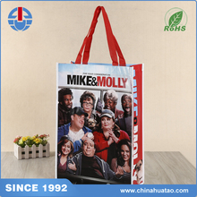 Fugang MIKE&MOLLY Printed Logo High Quality Non Woven Lamination Shopping Bags