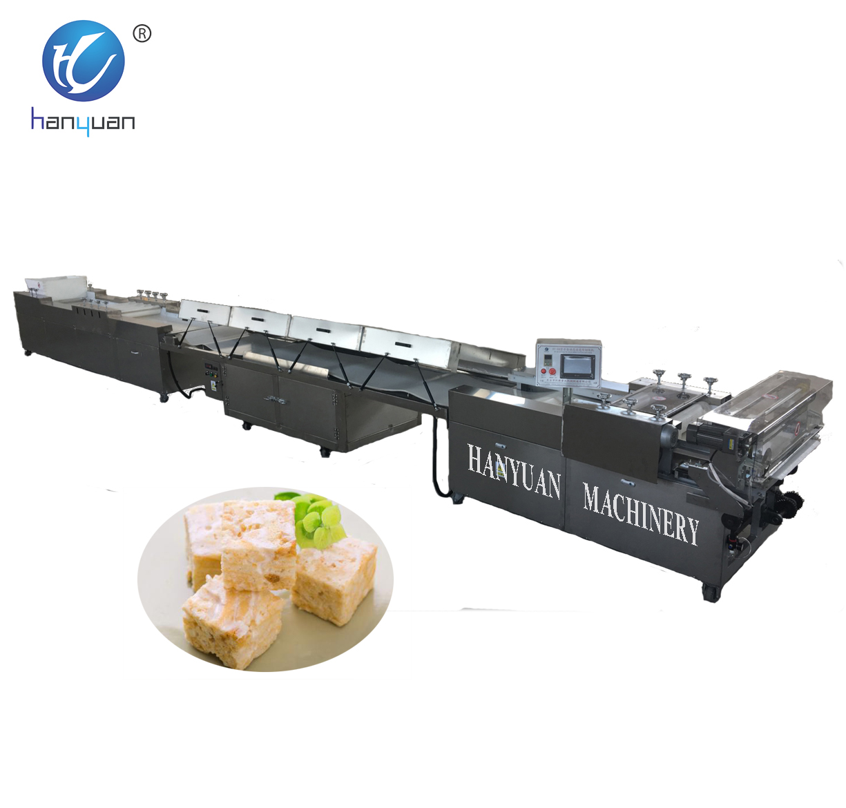 New brand 2017 Automatic peanut brittle Molding and Cutting Machine in China