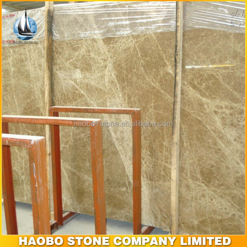 Haobo Competitive Price Light Emperador Marble