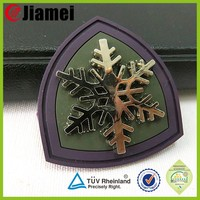 Customized 3d silicone soft decorative clothing garment pvc patch