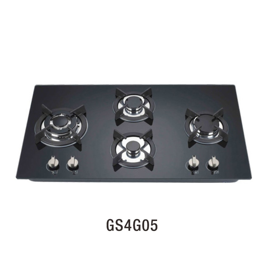 GS4G05 New model 4 burner gas stove built-in gas hobs cooking appliances