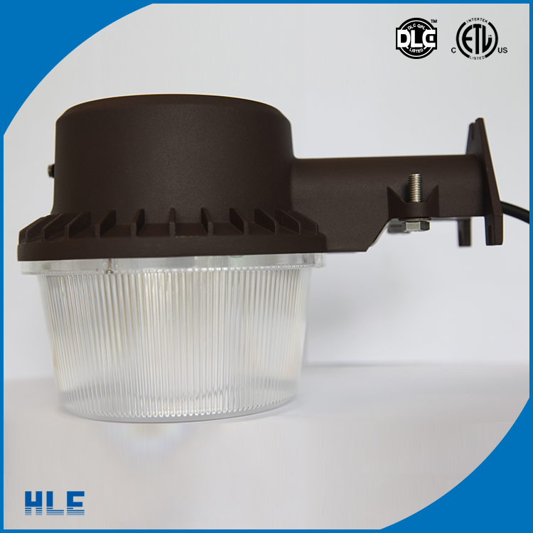 ETL DLC UL round outdoor waterproof IP65 IP67 led light garden with microwave motion PIR sensor