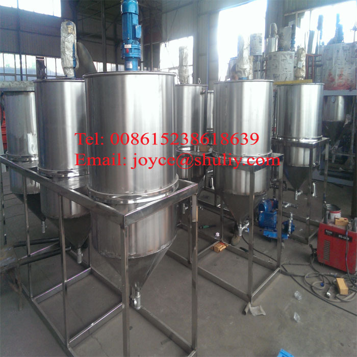 best quality machine to refine cotton oil/ palm oil/ used oil machine-8615238618639