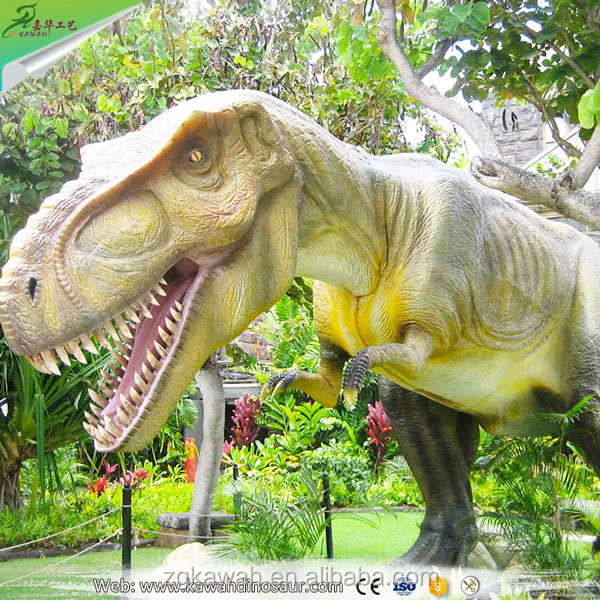 Giant T-Rex Model Life Size Hand-Made Animatronic Dinosaur Robot For Sale