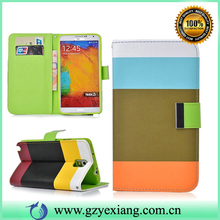 High Quality Purse Leather Case For Samsung Galaxy Note 3