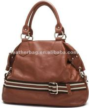 women genuine leather tote bag / leather lady hand bag