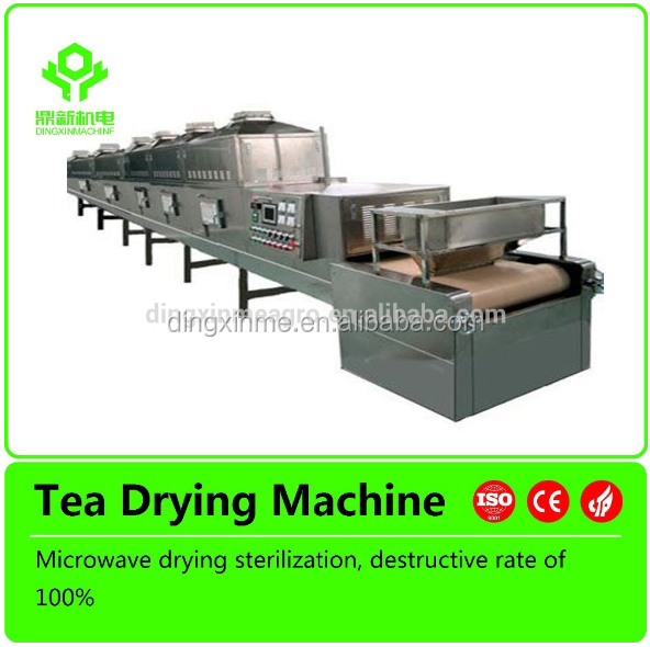 Wide Belt tunnel micro making Drying equipement/tea leaf dryer machine