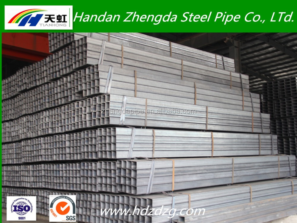Black Iron/STEEL Pipe/TUBE square and rectangular hollow sections ASTM, JIS Standard