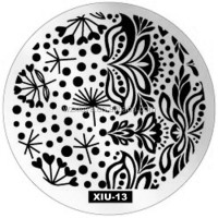 Custom Stamping Nail Art Print Plates New DIY Template XIU-13