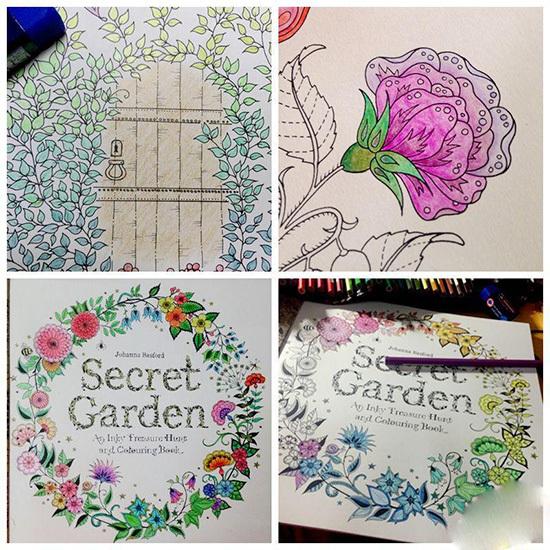 Diy Pen Magic Secret Garden Flower Design Your Own