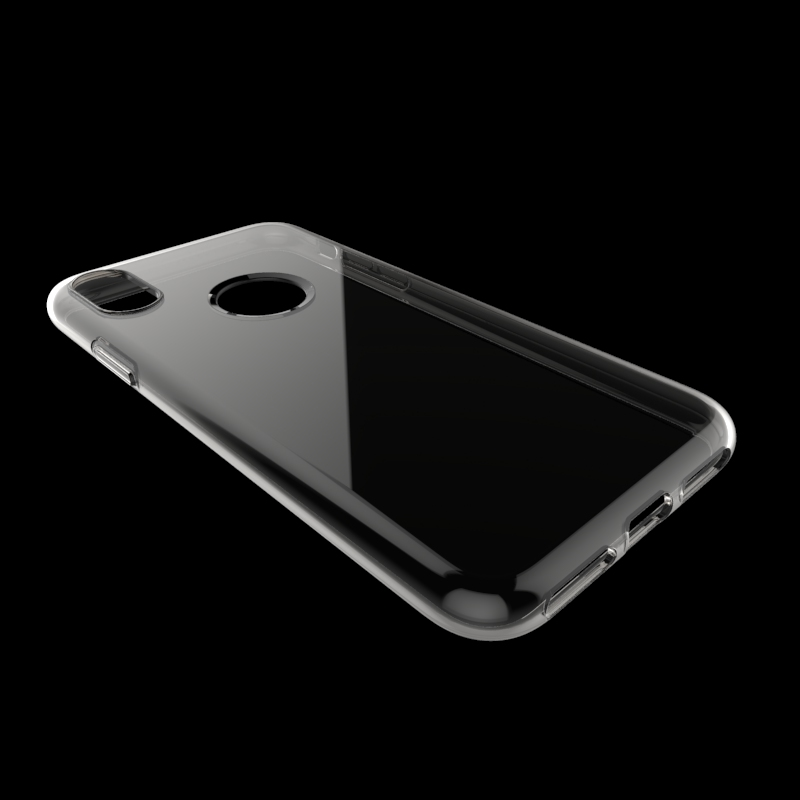 clear Transparent soft mobile phone case for Iphone 8 tpu back cover