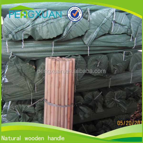 factory direct sale wood pole/wooden pole for rake/fork 150cm