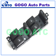 Window MASTER POWER Switch Control for VW JETTA Passat Golf OEM 1J4 959 857 1J4 959 857 B 1J4959857