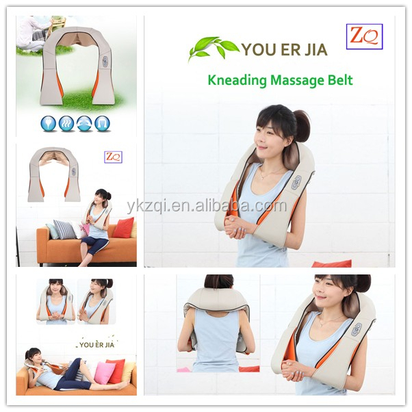 Home and Car Use neck shoulder massage heating pad