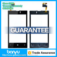 Best price repair parts touch screen digitizer glass for nokia lumia 520 screen