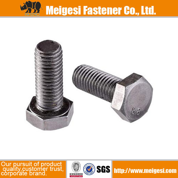Customization high qality good price carbon steel/stainless steel zinc plated m6-m24 jack bolt