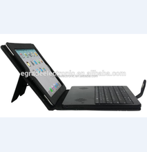 DETACHABLE BT Keyboard Leather Case with Stereo Speaker for iPad 2 3 4