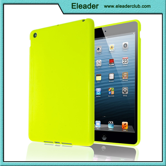 For ipad mini covers glossy tpu back cover wholesale