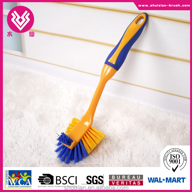NEW Dish Scrub Brush Plastic Scrub Brushes