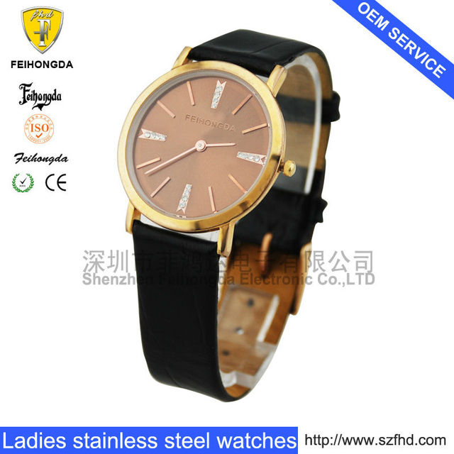 IP good diamond stone business quartz wristwatch