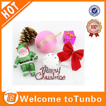 2014 Colourful reflects ball Plastic Christmas Ball tree decoration ball