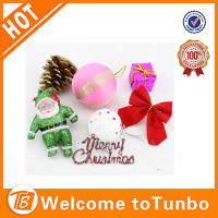 Colourful reflects ball Plastic Christmas Ball tree decoration ball