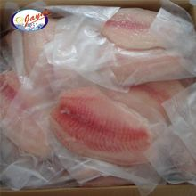 New coming frozen black tilapia fillet skinless process