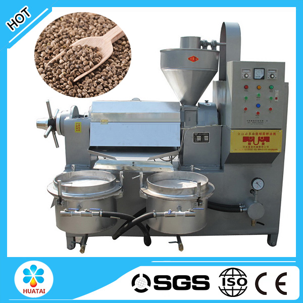 Automatic screw type hemp seed oil press machine price