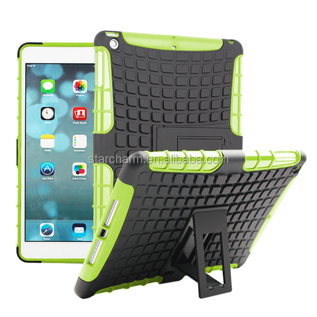 new arrival cheap tpu pc dual case for ipad air