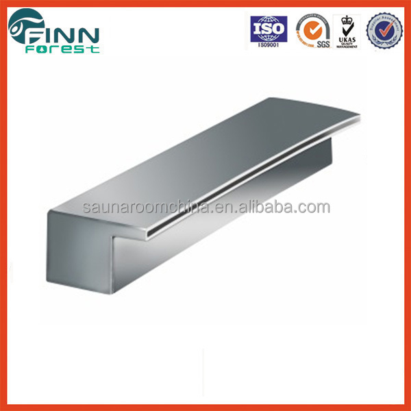 LED Light Added 1 meter Width Stainless Steel Vianti Waterfall Spillway