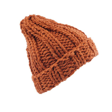 Latest Style High Quality Ladies Solid Color Hip-Hop Knitted Winter Beanie Hat