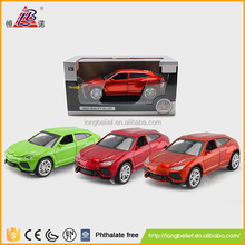 High speed plastic cool diecast fun toy car models
