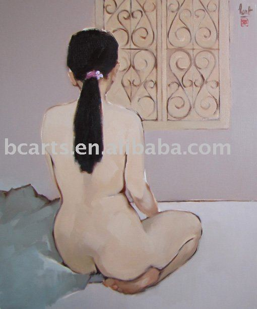 nude women picture image sex nude chinese photos oil painting nude woman picture, abstract wall decoration painting