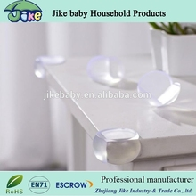 PVC transparent baby safety products glass table corner guard clear corner protector