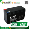 Bluesun good price lead acid battery 12v 6.5ah 7ah with ISO CE ROHS