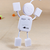 human shape 4 port usb hub